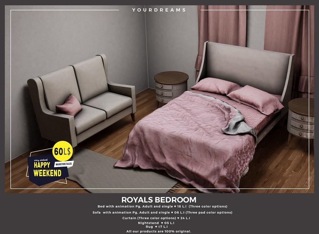 {YD} Royals Bedroom