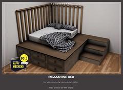 {YD} Mezzanine Bed