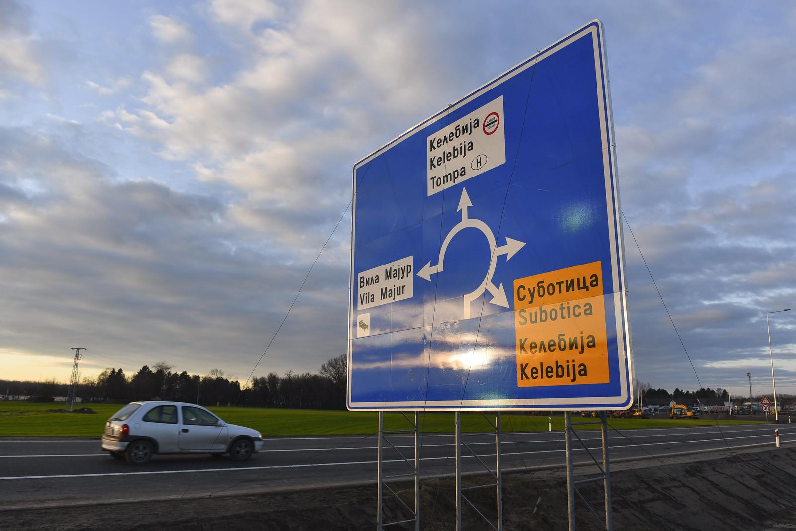 Tehermentesül Szabadka és Tompa-Kelebia autós forgalma  – Elkerülő út épült a magyar határig