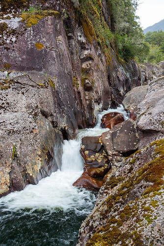 small falls on Rio Coihuin O Chamiza
