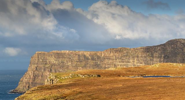 The Cliffs of Oisgill Bay, Skye