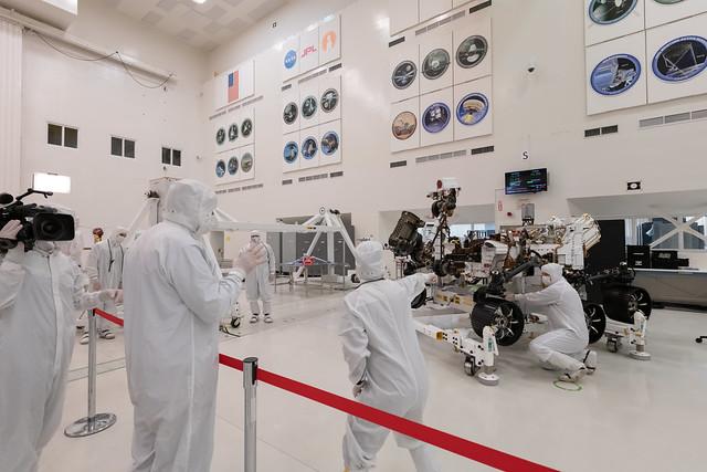 Mars 2020 Media Day