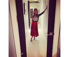 Kelly Ripa Comments to Trolls Critisizing Her Christmas Outfit