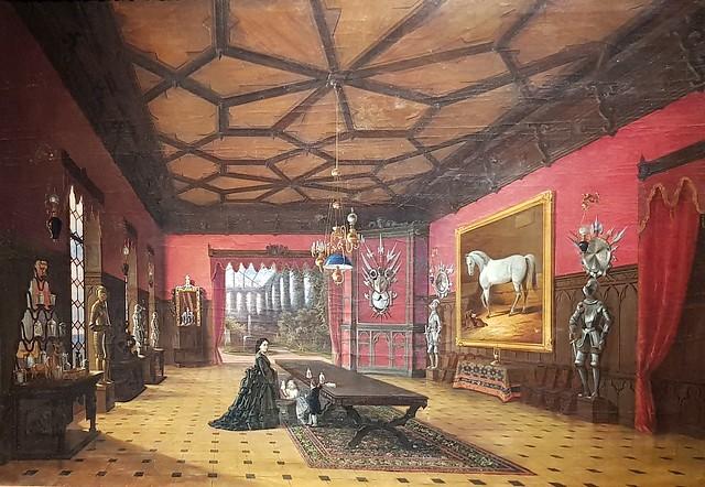 Interior of Tyszkiewicz family Palace
