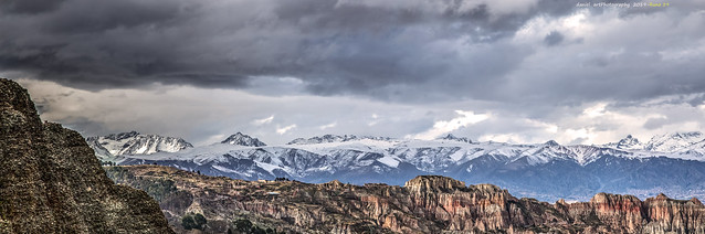 Cordillera Nevada, desde Murillo hasta el Mururata
