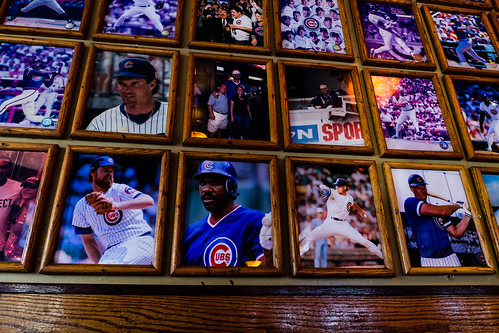 Wall of Heroes - Slugger's Bar, Lakeview