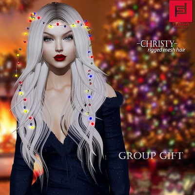 -FABIA- Mesh Hair < Christy> GIFT