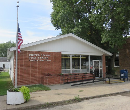 iowa ia postoffices woodburycounty hornick northamerica unitedstates us