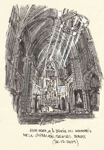 Burgos, Iglesia de las Salesas