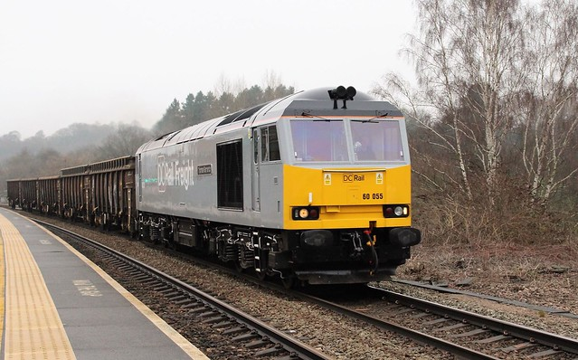 DC Rail Freight 60055 - Chesterfield