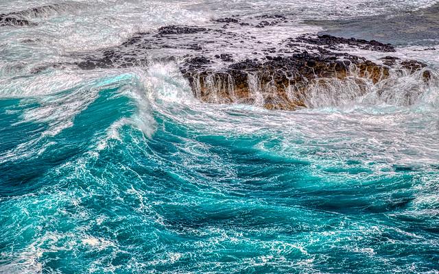 Wave (homage to Hokusai)