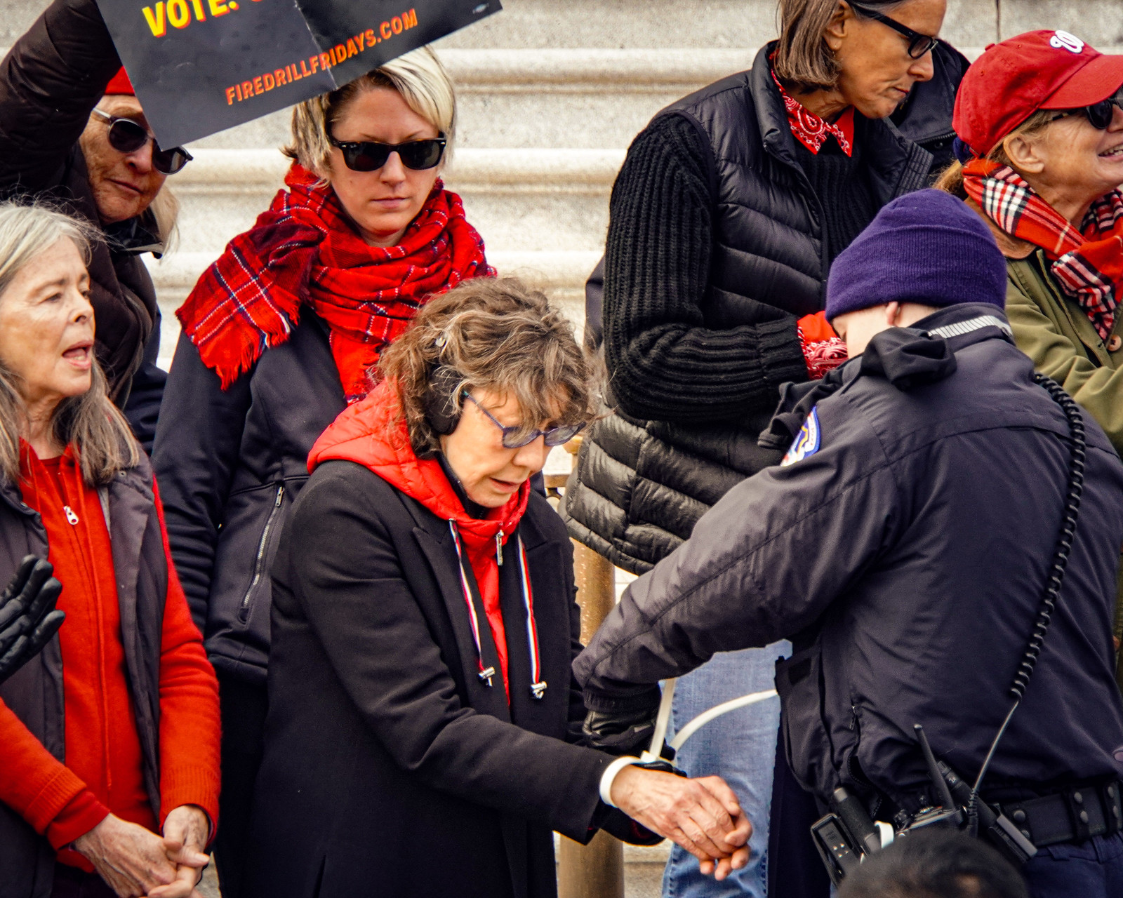 2019.12.27 Fire Drill Fridays with Jane Fonda and Lily Tomlin, Washington, DC USA 361 172169