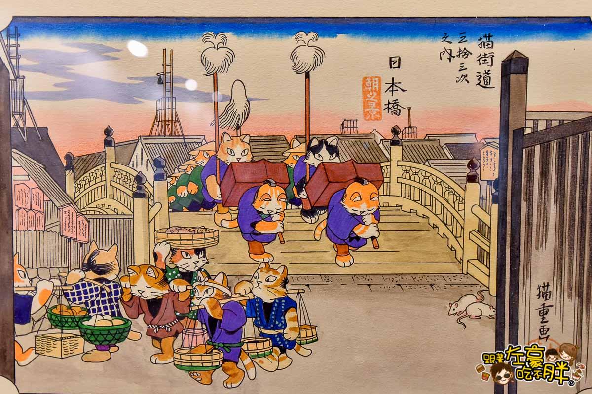 貓美術館世界名畫駁二展覽-74