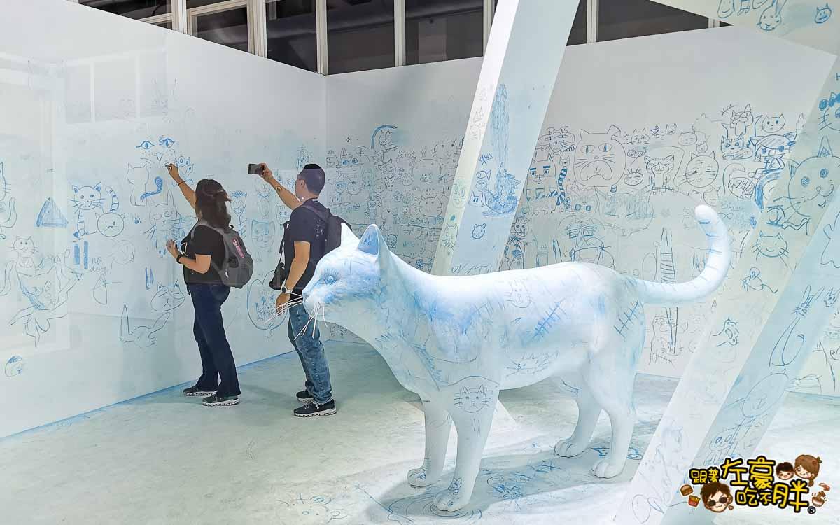 貓美術館世界名畫駁二展覽-35