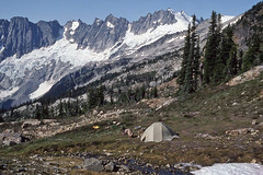 Mount Challenger from Camp, Morning
