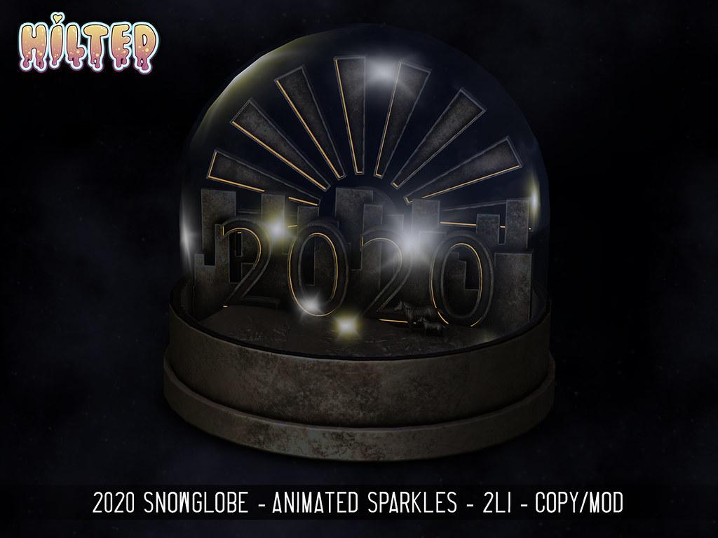 HILTED - 2020 Snowglobe