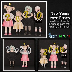 Presenting the New Years 2020 Poses from Jester Inc.