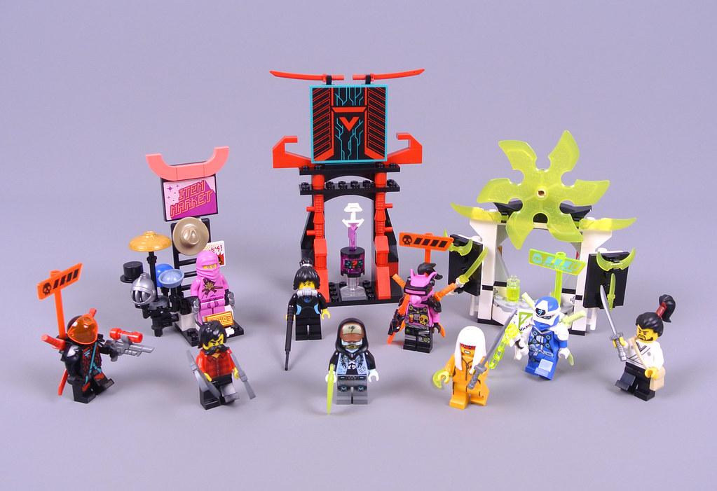 Lego Ninjago 71708 Gamers Market Review Brickset Lego