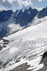 Challenger Glacier and Crooked Thumb