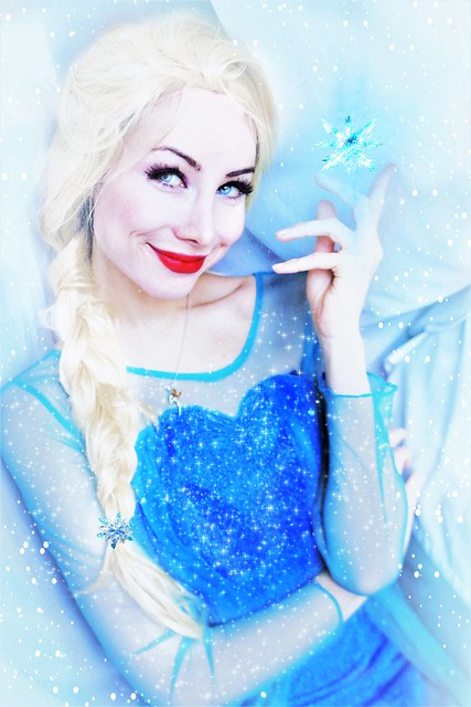 Elsa Cosplay by Sarina Rose