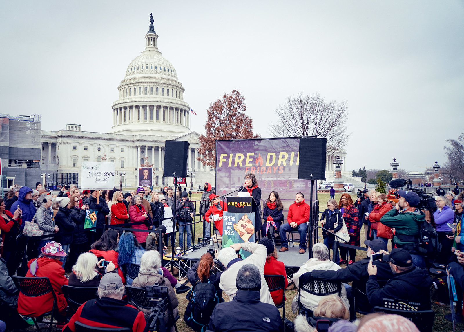 Photos: Fire Drill Friday – Forests Can't Wait, with Jane Fonda and Lily Tomlin, United States Capitol, Washington, DC