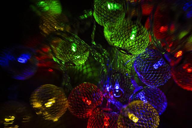 Tiltshift Christmas Lights