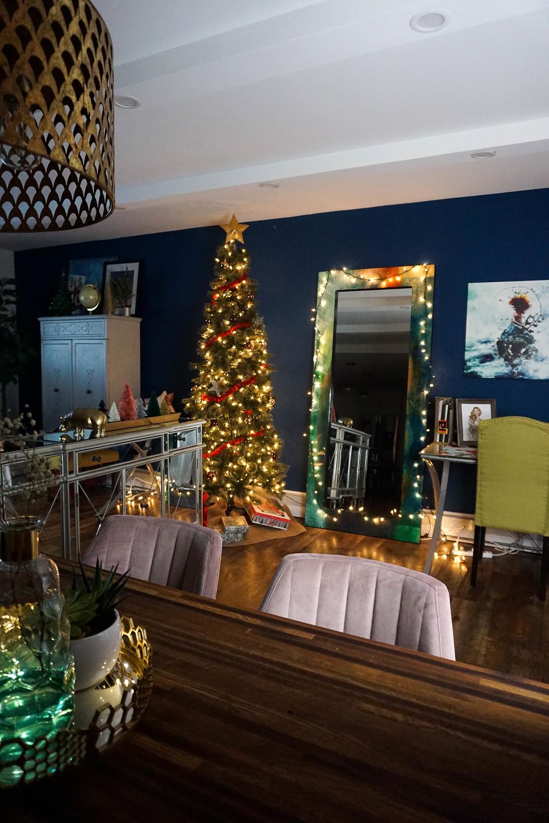 Tall Slim Christmas Tree Minimal Christmas Decorations