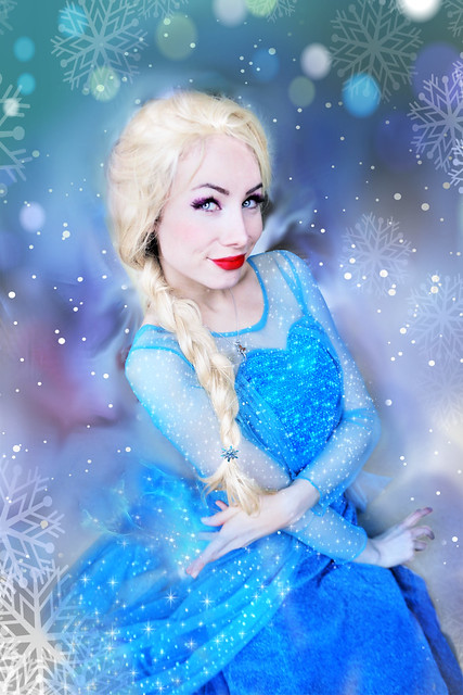 Frozen ELSA by Sarina Rose