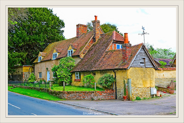 Residential, Station Road, Haddenham, Aylesbury, Buckinghamshire, England UK