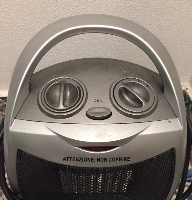 The Happy Space Heater!