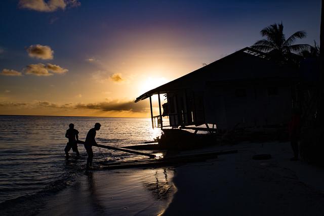 Sunset On Mantanani Island, Borneo