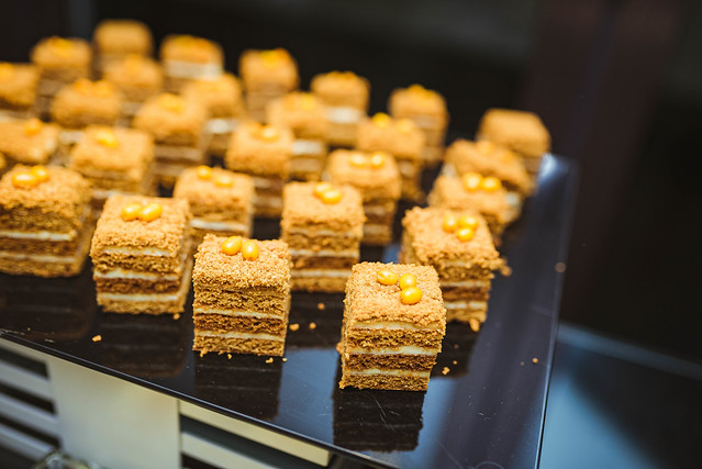 Homemade Honey Cakes. Organic, Closeup
