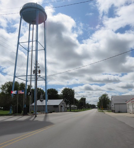 iowa ia downtowns watertowers webstercounty vincent northamerica unitedstates us