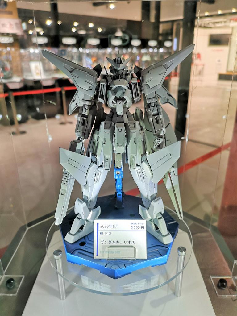 MG 1/100《機動戰士鋼彈00》GN-003 主天使鋼彈(ガンダムキュリオス)試作品公開!
