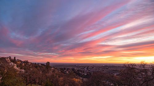 clouds sunset eldoradohills california unitedstatesofamerica