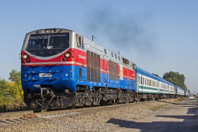 UTI passenger train