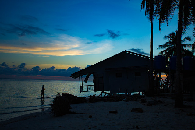 Twilight On Mantanani Island