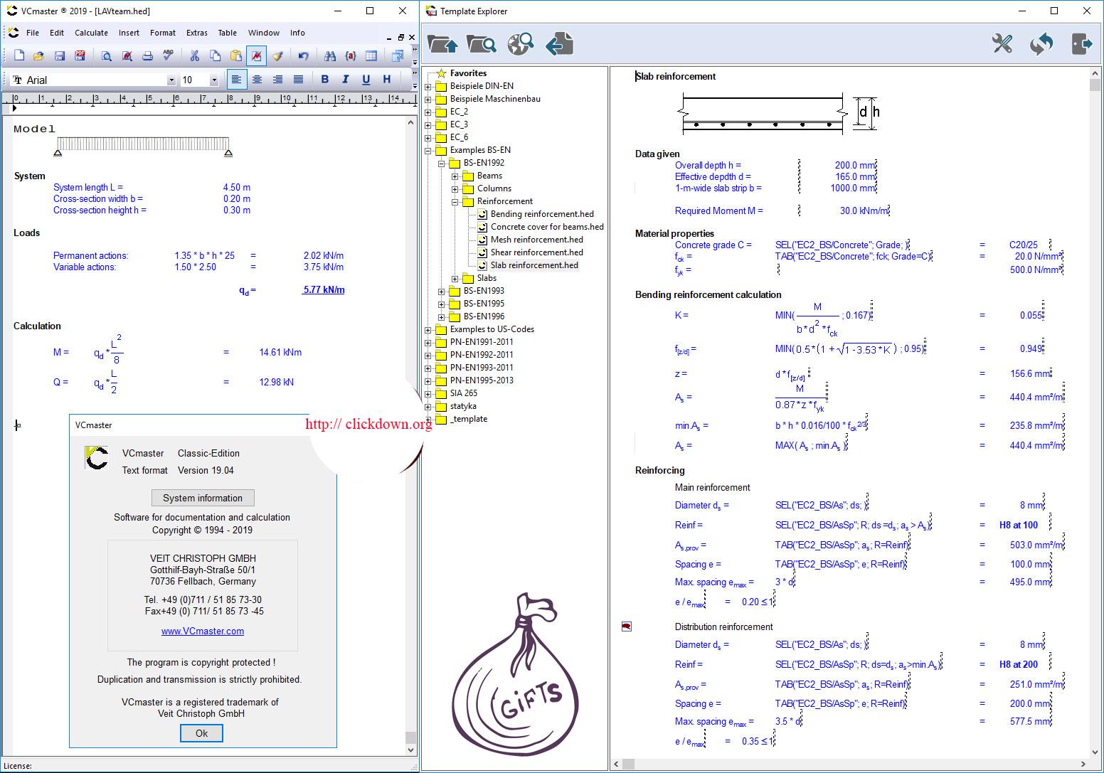 Working with Veit_Christoph_VCmaster_2019_v19.04 full license