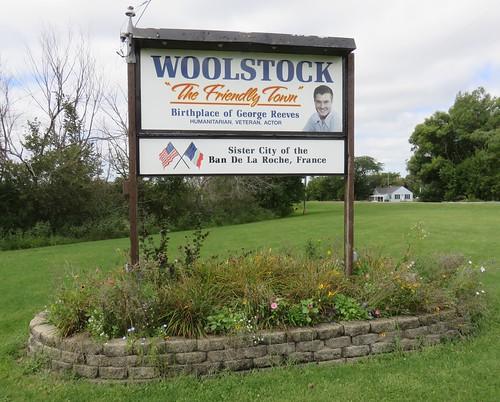 iowa ia citywelcomesigns wrightcounty woolstock georgereeves northamerica unitedstates us