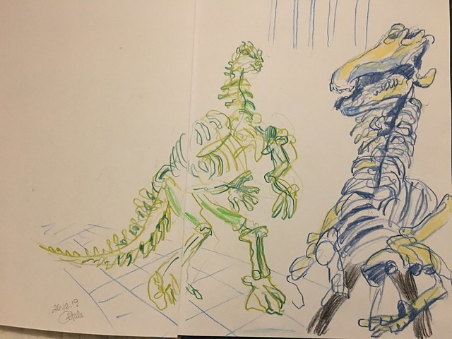 A couple iguanodons before lunch