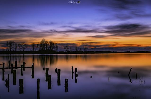 Sunset at Fisherman Wharf