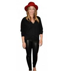 Hilary Duff Leather Pants