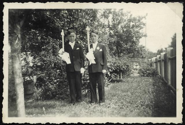 Albuma100 Erstkommunion, Jungen, 1950er