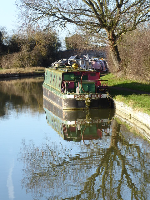 Grand Union Canal, Old Linslade, Bedfordshire