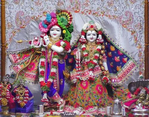 ISKCON Narasaraopet Deity Darshan 28 Dec 2019