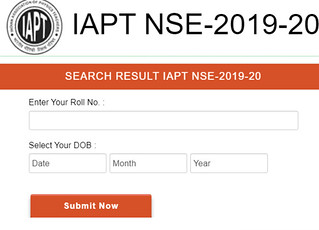 NSEB Result 2019