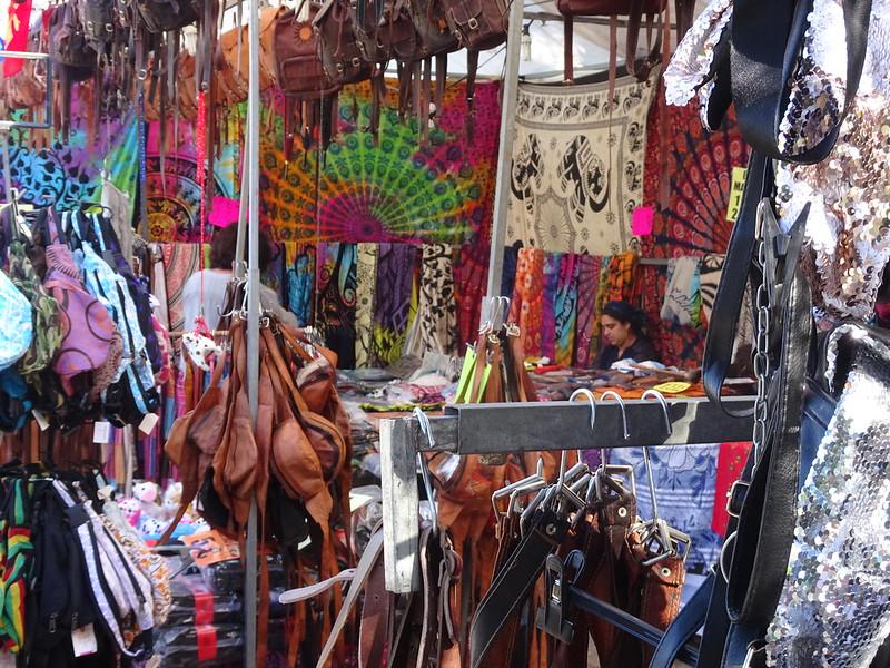 Un mercado en Cangas