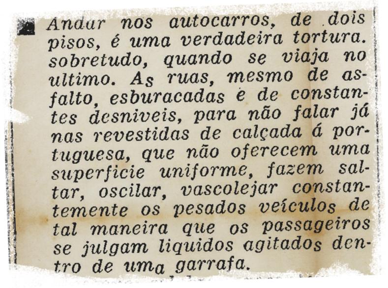 «Andar nos autocarros…», Diário de Lisboa, 31/1/1959