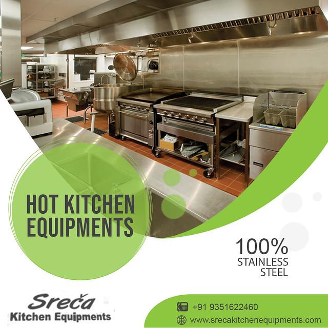 Hot Kitchen Equipment - Sreca