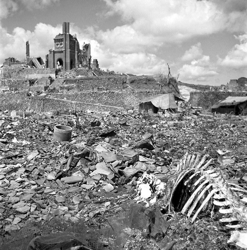 Nagasaki ruins